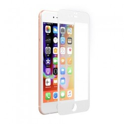 Devia ochranné sklo Full Screen pre iPhone 8/7 - White Frame...