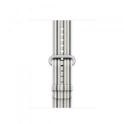 Apple Watch 38mm Gray Stripe Woven Nylon MRH92ZM/A