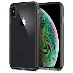 Spigen kryt Neo Hybrid Crystal pre iPhone XS Max - Gunmetal 065CS24844
