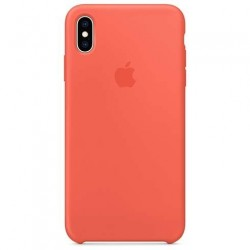 Apple iPhone XS Max Silicone Case - Nectarine MTFF2ZM/A