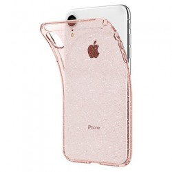 Spigen kryt Liquid Crystal Glitter pre iPhone XR - Rose Quartz...