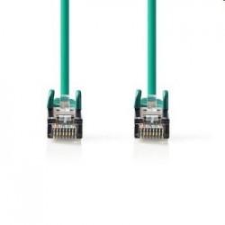Nedis patch kábel Cat5E, SF/UTP - 5m, zelený CCGP85121GN50