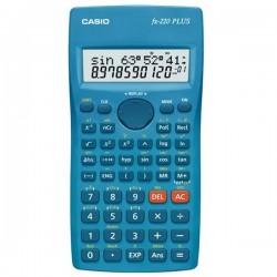 Kalkulačka Casio, FX 220 PLUS, modrá, školská, desaťmiestna