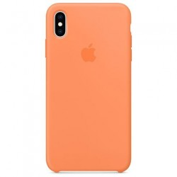 Apple iPhone XS Max Silicone Case - Papaya MVF72ZM/A