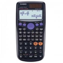 Kalkulačka Casio, FX 85 ES Plus, čierna, školská, desaťmiestna FX 85ES PLUS