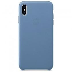 Apple iPhone XS Max Leather Case - Cornflower MVFX2ZM/A