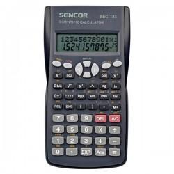 Kalkulačka Sencor, SEC 183, šedá, školská, dvanásťmiestna