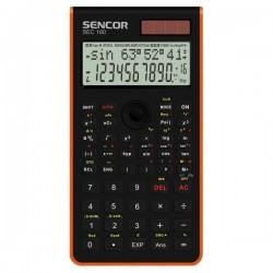 Kalkulačka Sencor, SEC 160 OE, oranžová, školská, dvanásťmiestna