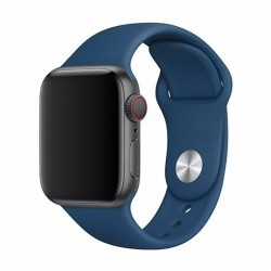 Devia Apple Watch Deluxe Series Sport Band (44mm) Blue Horizon...