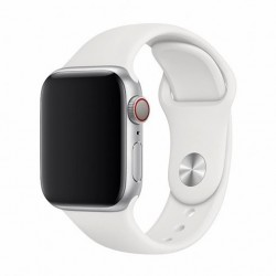 Devia Apple Watch Deluxe Series Sport Band (44mm) White 6938595324956