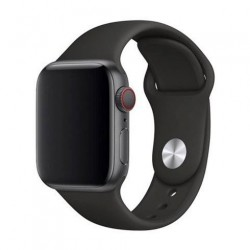 Devia Apple Watch Deluxe Series Sport Band (44mm) Black 6938595324963