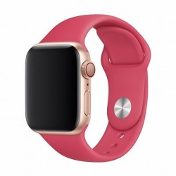 Devia Apple Watch Deluxe Series Sport Band (44mm) Red 6938595324970