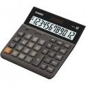 Kalkulačka Casio, DH 12, šedá, stolná, dvanásťmiestna