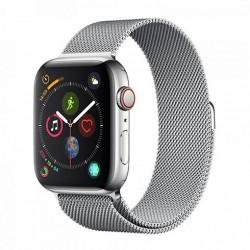 Devia Apple Watch Elegant Series Milanese Loop (44mm) Silver...