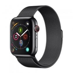 Devia Apple Watch Elegant Series Milanese Loop (44mm) Space Black...