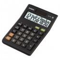 Kalkulačka Casio, MS 10 B S, čierna, stolná s prevodom meny,výpočtom DPH,% vrátane zisku