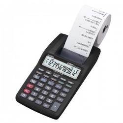 Kalkulačka Casio, HR 8TEC, čierna, Prenosná stolná kalkulačka s tlačou,dvanásťmiestna