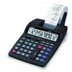 Kalkulačka Casio, HR 150 TEC, čierna, Prenosná stolná kalkulačka s tlačou,dvanásťmiestna