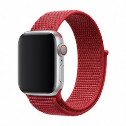 Devia Apple Watch Deluxe Series Sport3 Band (44mm) Red 6938595326363