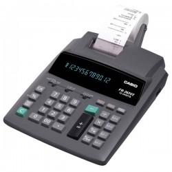 Kalkulačka Casio, FR 2650 T, šedá, Prenosná stolná kalkulačka s tlačou,dvanásťmiestna