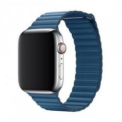 Devia Apple Watch Elegant Leather Loop (40mm) Cape Cod Blue...