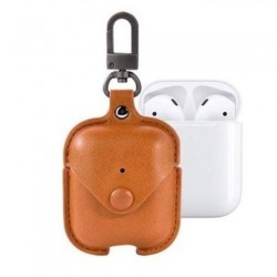 Devia puzdro Cowboy Series Case Suit pre Apple AirPods - Tan...