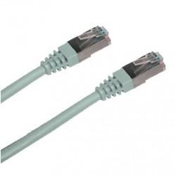 Patch kábel Cat5E, FTP - 3m, šedý K5455.3
