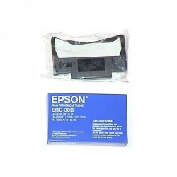Epson originál páska do pokladne, C43S015374, ERC 38, čierna, Epson TM-300, U 375, U 210, U 220