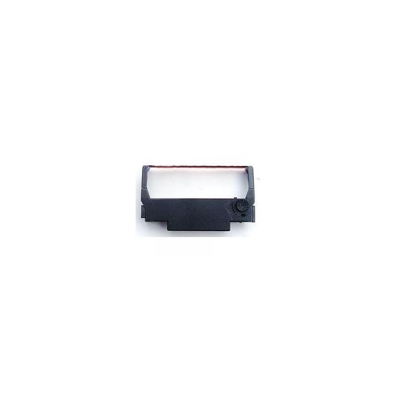 Epson originál páska do pokladne, C43S015376, ERC 38, červeno-čierna, Epson TM-300, U-375, 210, 300, 200