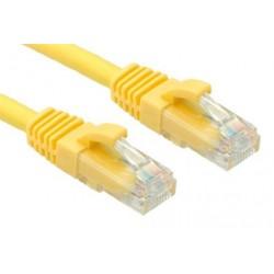OXnet patch kábel Cat5E, UTP - 0,5m, žltý PKOX-U5E-005-YL