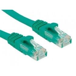OXnet patch kábel Cat5E, UTP - 1m, zelený PKOX-U5E-010-GN