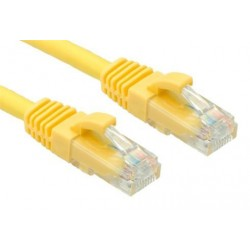 OXnet patch kábel Cat5E, UTP - 0,25m, žltý PKOX-U5E-002-YL