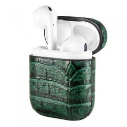 Devia puzdro Lux Series Case Suit pre Apple AirPods - Green...