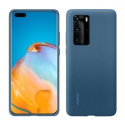 Huawei Silicone Case P40 Pro Modry 51993799