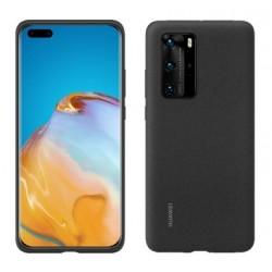 Huawei Silicone Case P40 Pro Cierny 51993797