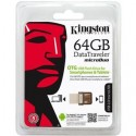 USB kľúč KINGSTON DataTraveler MicroDuo 64GB DTDUO/64GB