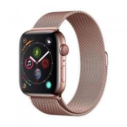 Devia Apple Watch Elegant Series Milanese Loop (44mm) Rose Gold...