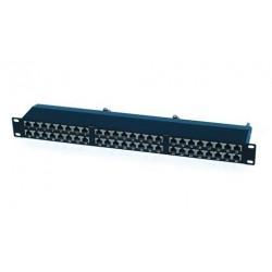 """OXnet 19"""" patch panel 48port Cat6, STP, blok UNI 110, vyväz. lišta,..."""