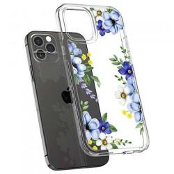 Spigen kryt Cecile pre iPhone 12/12 Pro - Midnight Bloom ACS01829