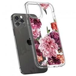 Spigen kryt Cecile pre iPhone 12/12 Pro - Rose Floral ACS01727