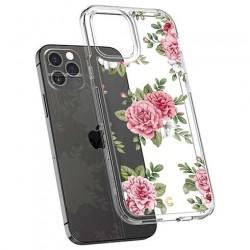 Spigen kryt Cecile pre iPhone 12/12 Pro - Pink Floral ACS01828