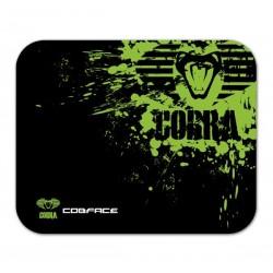 Podložka pod myš, Cobra M, herná, čierno-zelená, 36.5x26.5cm, E-Blue EMP005-M