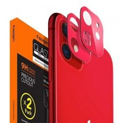 Spigen Camera Lens Screen Protector pre iPhone 11 - Red AGL00511