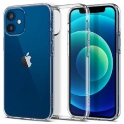 Spigen kryt Crystal Flex pre iPhone 12 mini - Clear ACS01539