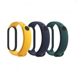 Xiaomi Mi Band 5 Strap (Modry,žlty, zeleny) 6934177724046
