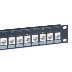 "Legrand LINKEO 19"" modulárny patch panel 24port 1U pre UTP i STP..."