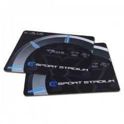 Podložka pod myš, Gaming Arena, herná, čierno-šedá, 26x21x0,2mm, E-Blue EMP009BK