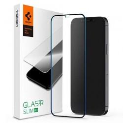 Spigen ochranné sklo GLAS.tR FC HD pre iPhone 12 mini - Black Frame...