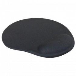 Podložka pod myš, Gélová, čierna, Logo 4793
