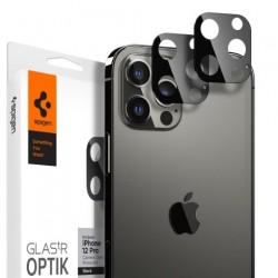 Spigen Optik Lens Protector pre iPhone 12 Pro - Black AGL01807